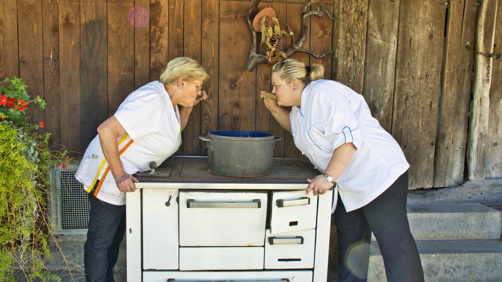 Saisonale Gerichte im Gasthaus zum Hirsch, Hausach, Einbach